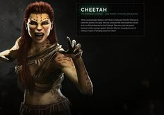 Cheetah (why is she in this game? Injustice Game, Injustice 2 Characters, Dc Characters, Cheetah Dc Comics, Fantasy Races, Marvel X, Super Hero Costumes, Character Portraits, Dc Heroes