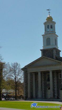 Historic buildings at colgate university