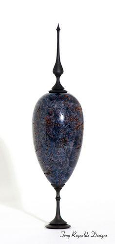 Wood Art 'Purity' Maple Burl Hollow Vessel by ShadyTreeCreations, $595.00
