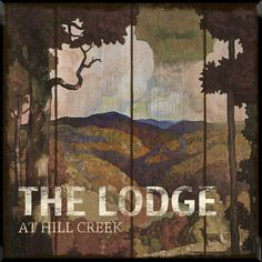 The Lodge Framed Graphic Art
