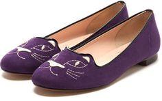 Cat Shoes / ShopStyle: フラッパー Flapper ねこさんバレエ