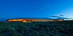 Eco-friendly resorts in Patagonia