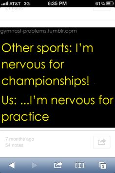 Understanding General Kicks for Soccer Training - Funny Sports - - Other sports: Im nervous for championships! Us: Im nervous for practice. soccer problems The post Understanding General Kicks for Soccer Training appeared first on Gag Dad. Gymnastics Problems, Swimmer Problems, Soccer Girl Problems, Athlete Problems, Basketball Problems, Funny Gymnastics Quotes, Volleyball Memes, Beach Volleyball, Gymnastics Things
