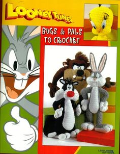 Free Crochet Toy Patterns  Looney Tunes Bugs and Pals - Mary. 2 - Picasa Web Albums