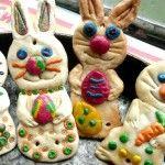 От солено тесто – зайчета за Великден