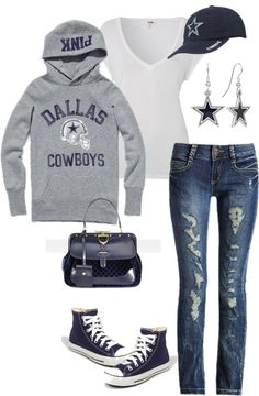 """""""Dallas Cowboys Baby!!!"""" by damussel on Polyvore"""