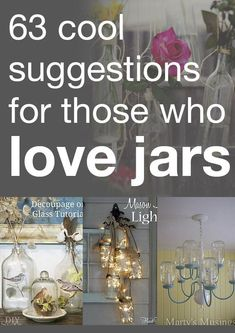 63 Cool Suggestions for Those Who Love Jars