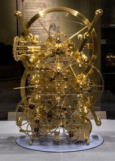 A working replica of Harrison's H3 timekeeper.