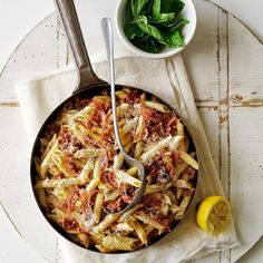 Finely shredded pancetta, an Italian style of cured bacon, adds an authentic touch to this European Penne with Italian Sausage, Pancetta and Pecorino dish. European Dishes, Sausage Pasta, Happy Foods, Penne, Quick Easy Meals, Pasta Recipes, Italian Recipes, Food Inspiration, Food Photography
