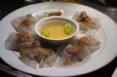 White rose dumplings, Hoi An, Vietnam