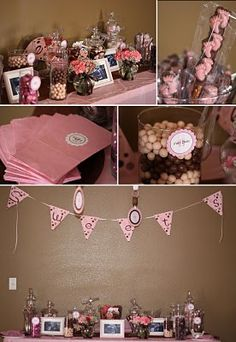 23 Best Pink And Brown Baby Shower Images Brown Babies Shower