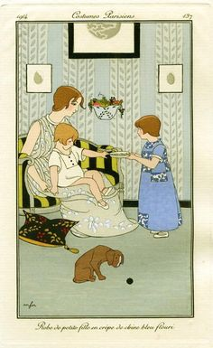 :: Sweet Illustrated Storytime ::  Illustration by Franc Nohain :: Marie Madeleine