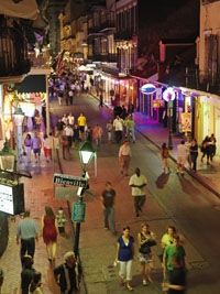 Everyone should experience Bourbon St New Orleans even once.