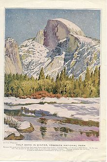 gunnar widforss , half dome, Yosemite- Google Search