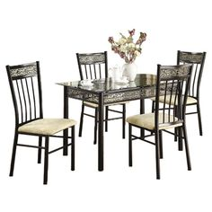 You should see this 5 Piece Rectangular Dining Set in Espirit on Daily Sales!
