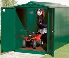 Are you looking for safe secure storage for your quad bike? Look no further than this highly secure shed from Asgard. http://ift.tt/1WOqzXK - http://ift.tt/1HQJd81