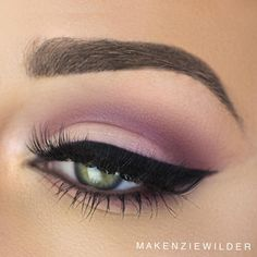 """""""Today's eye look  Product Details:  @sigmabeauty Warm Neautrals Pallete and Wicked Gel liner (Use code: 'makenzie' for $$ off Sigma Products)…"""""""