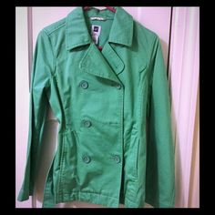 GAP spring jacket *missing one button*. Size M. GAP Jackets & Coats