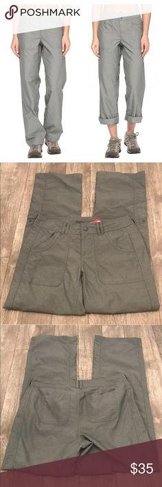 North Face Horizon 2.0 Convertible Pants Gray 2 Brand new with tags North Face Horizon 2.0 convertible roll up pants in Sedona Sage Gray, size 2. The North Face Pants Track Pants & Joggers