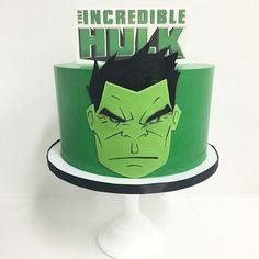 Cake by Sweet Deetails #sweet_deetails #hulk