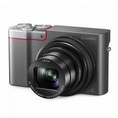 Panasonic Lumix DMC-TZ100 -kompaktikamera, hopea