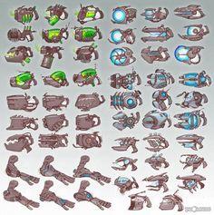 ratchet and clank vehicles concept art - Google zoeken
