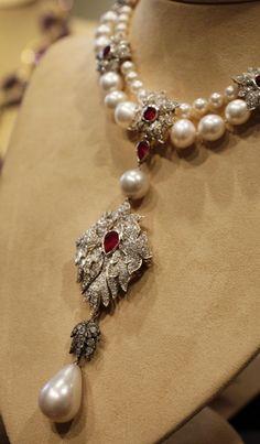Liz Taylor Cartier Necklace