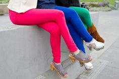 Want fun colorful skinny jeans for fall? #Gap has em on sale for under $55