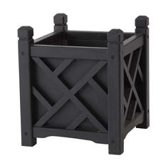 "Chippendale Solid Wood Planter $99 18"" LWH"