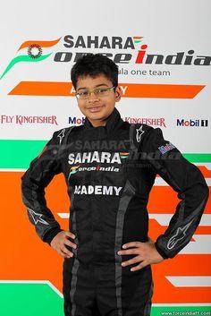 Sahara Force India Formula One Team Academy Driver - Arjun Maini