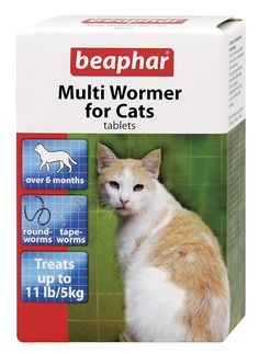 Beaphar Multiwormer for Cats 12 Tablets (Pack of 3) * Read more at the image link. #CatHealthSupplies