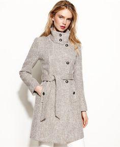 Tahari Izzy Asymmetrical Wool-Blend Coat on shopstyle.com