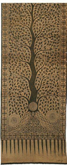indonesian tree pattern
