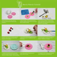 Bee & Friends Picture Tutorial
