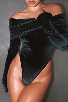Sexy Bodysuit Women Long Sleeve Embroidery Lace Strapless Jumpsuit Combinaison Femme Velvet Jumpsuits for women 2016 Fanoni Long Sleeve Velvet Bodysuit, Black Velvet Bodysuit, Strapless Jumpsuit, Short Jumpsuit, Black Jumpsuit, Bodycon Jumpsuit, Jumpsuit Dress, Rompers Women, Jumpsuits For Women