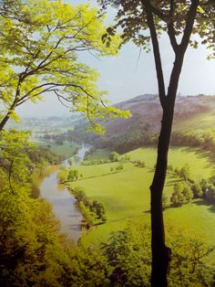 Symond's Yat in Herefordshire, England