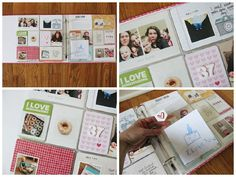 Some Fun Project Life by Kristina Proffit for the Simon Says Stamp Blog.