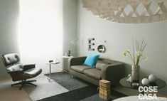 foto dopo l'intervento del living da rinnovare spendendo poco Home Organization, Declutter, Beautiful Homes, Sweet Home, Couch, Furniture, Hobby, Home Decor, Houses