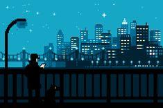 » La Vida Cotidiana Japonesa Vista en Gifs de 8 Bits