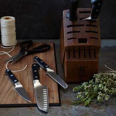Zwilling J.A. Henckels Pro 7-Piece Knife Block Set #williamssonoma