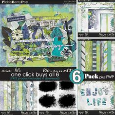 Enjoy Life ~ 6-Pack PLUS FWP by Kawouette