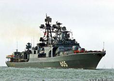 Udaloy BPK Admiral Levchenko | БПК «Адмирал Левченко» завершил
