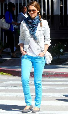 Jeans de colores!