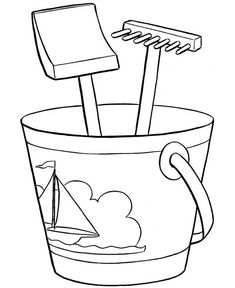 coloring page beach coloring page - colorankids