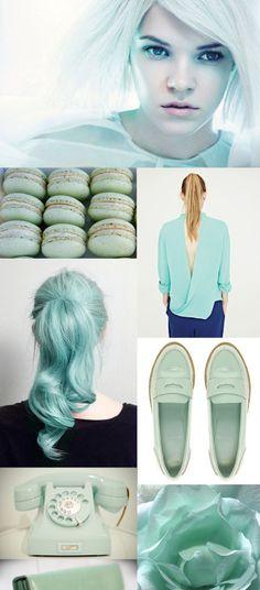mint green......VARIETY