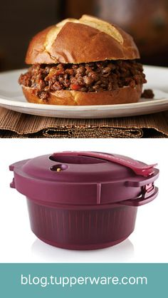 One of our latest tools to enter the microwave cooking game is the Microwave Pressure Cooker. It's an unbelievably fast way to achieve flavorful, juicy meals. #vegan #vegetarian #sloppyjoeday