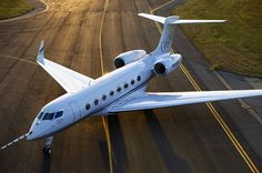This is first class travel!  The Gulfstream G650 is a large cabin, Rolls-Royce powered business jet with a long-range cruise speed of Mach 0. Description from 8viation.com. I searched for this on bing.com/images
