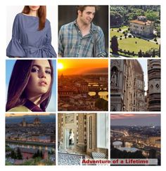 """""""Adventure of a Lifetime: Heidi in Florence"""" by ivyfanfic ❤ liked on Polyvore featuring art"""