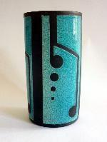 Raku Ceramics by Eric Moss. Vases, Raku Pottery, The Potter's Wheel, Bottle Vase, Sculpture, Modern Ceramics, Tea Bowls, Diy Clay, Earthenware