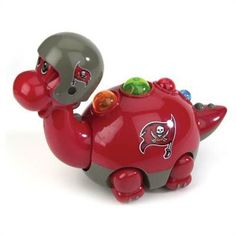 "#Tampa Bay Buccaneers 6"" x 9"" Toy Team Dino"